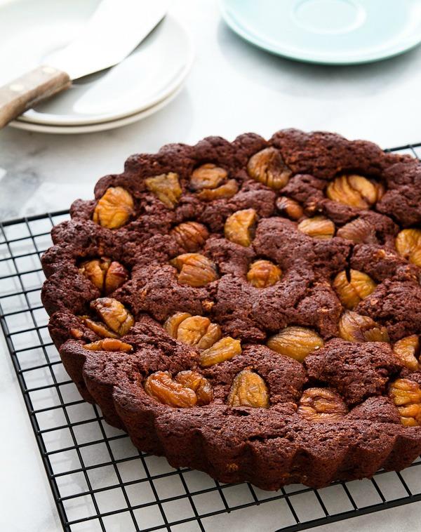 Čokoladna torta od pečenog kestenja
