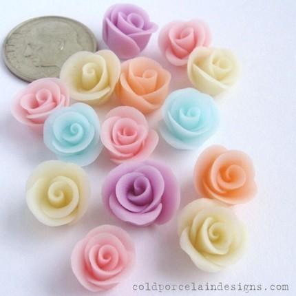 Cveće od hladnog porculana