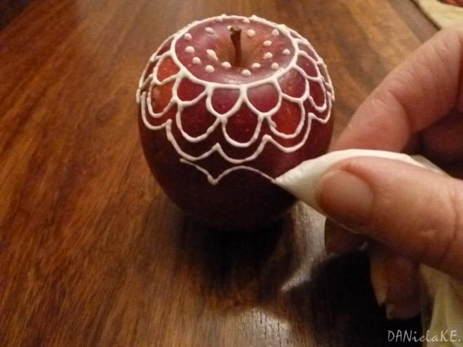 novogodišnji ukrasi od jabuka izrada