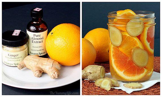 osveživač od narandće i đumbira
