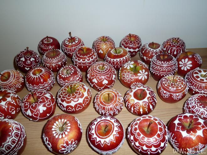 novogodišnji ukrasi od jabuka