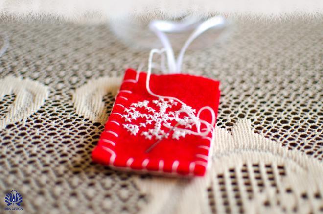 Novogodišnji ukrasi od filca - izrada5