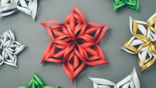 Novogodišnji ukrasi od papira – uradi sam