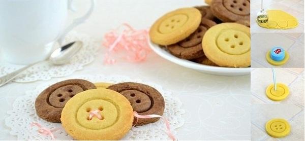 posni kolači - dugmići