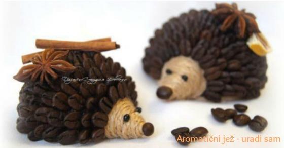 Aromatični jež - uradi sam