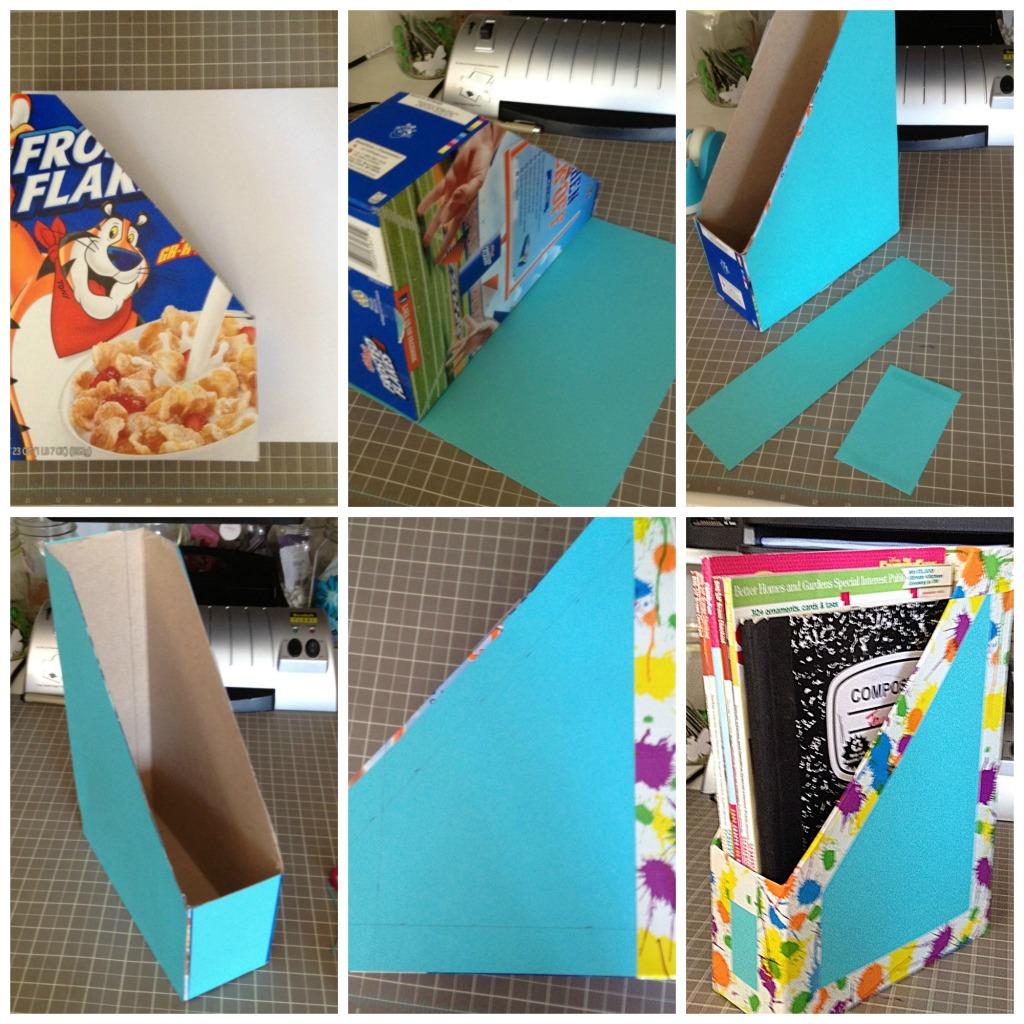Kutija za časopise - izrada.
