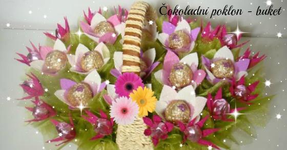 Čokoladni poklon - buket