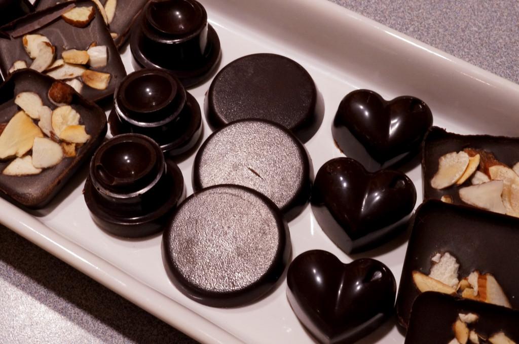 Desert: domaća čokolada.