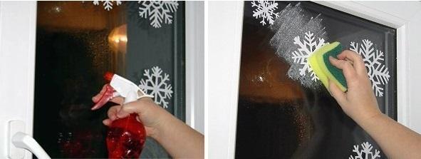 novogodišnje pahulje na prozoru 3