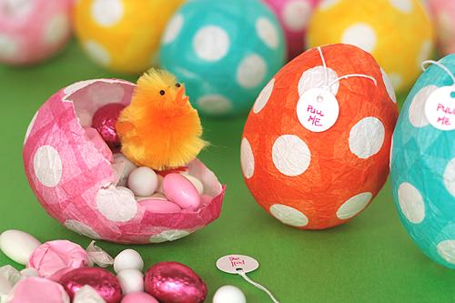 Papir maše: uskršnja jaja.