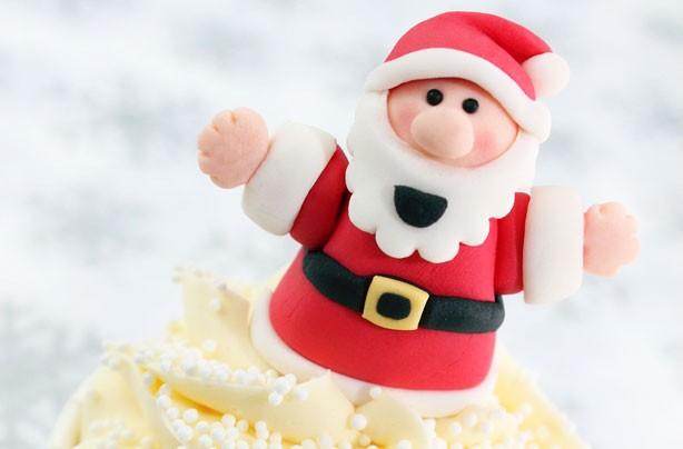 Ukrasi za tortu - Deda Mraz