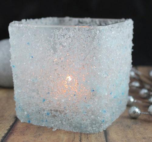 zaleđen svećnjak