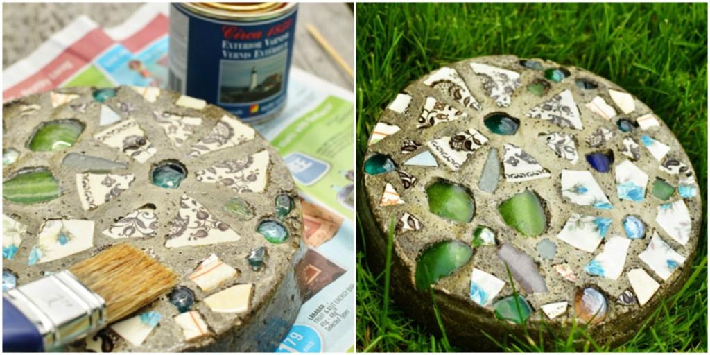 Dekorativno kamenje - DIY (uradi sam): sedmi korak.