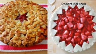 Desert od srca.