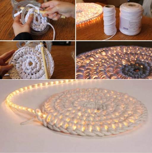 DIY svetleći tepih