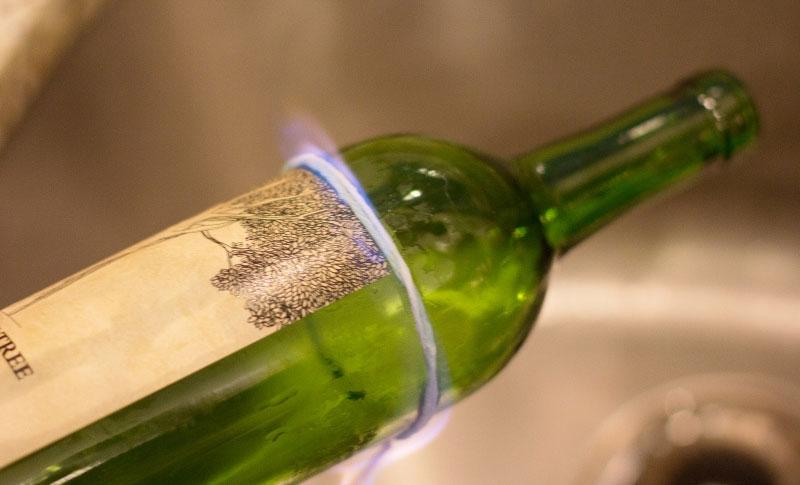 Sečenje boce