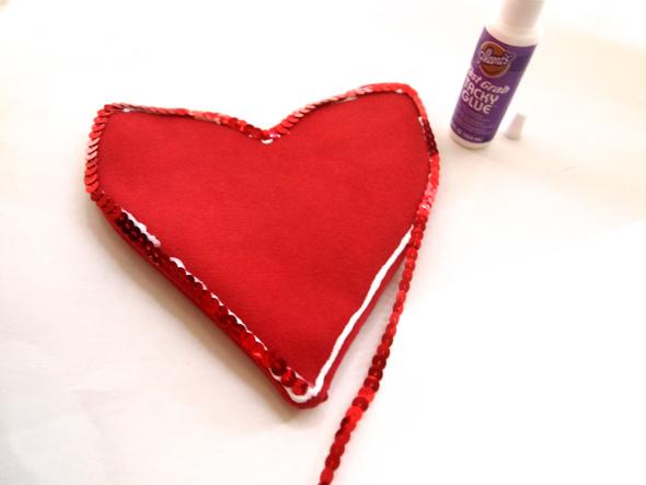 Stilizovana torbica srce - DIY (uradi sam).