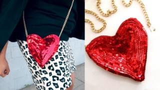 Stilizovana torbica srce.