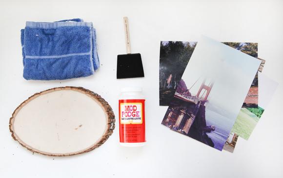 DIY transfer slike na drvo 1