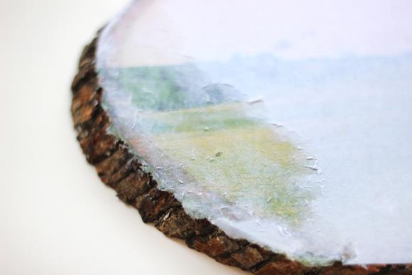 DIY transfer slike na drvo 5