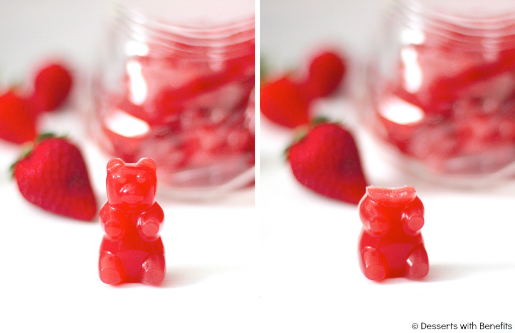 Domaći gumeni bomboni od jagode - DIY (uradi sam).