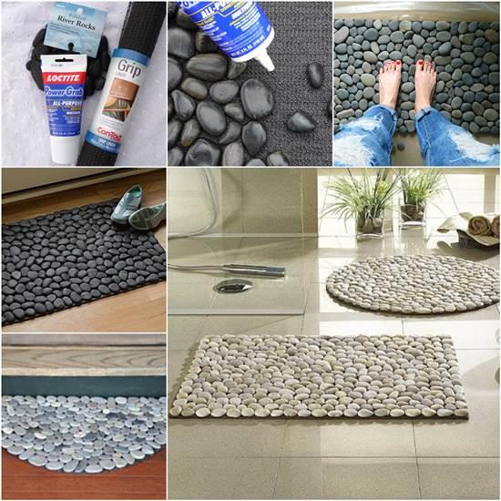 kreativne ideje sa kamenjem podmetac