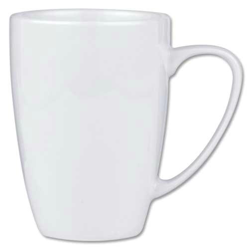 Šolja za kafu na koju ćete primeniti mramornu tehniku.