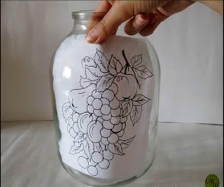 Oslikavanje tegli - DIY: izrada.