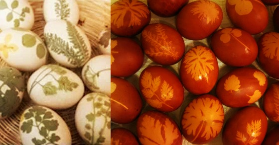 Tradicionalno farbanje jaja.