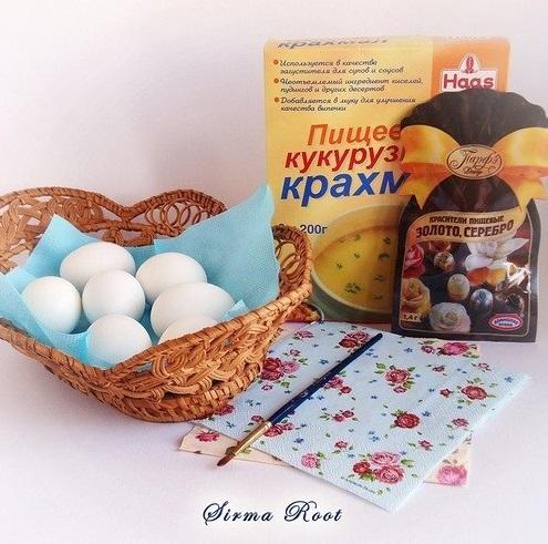 uskršnja jaja dekupaž 1