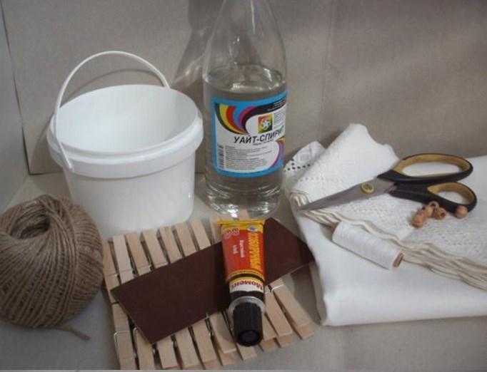 Uskršnja korpica - DIY (uradi sam): potreban materijal.