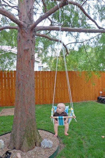 DIY ljulja za bebe.