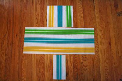 DIY ljulja za bebe - postavite isečeni materijal u oblik koji vam je potreban za ljulju.