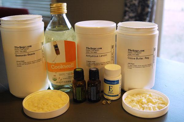 Prirodna kozmetika - labelo: potrebni sastojci