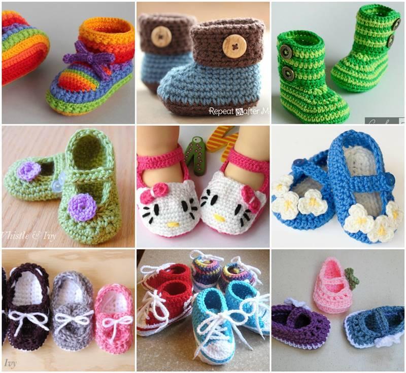 heklane cipelice za bebe 2
