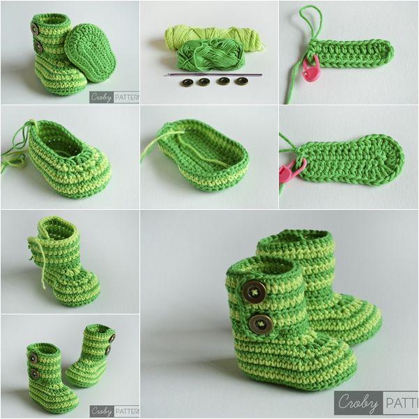 heklane cipelice za bebe 3