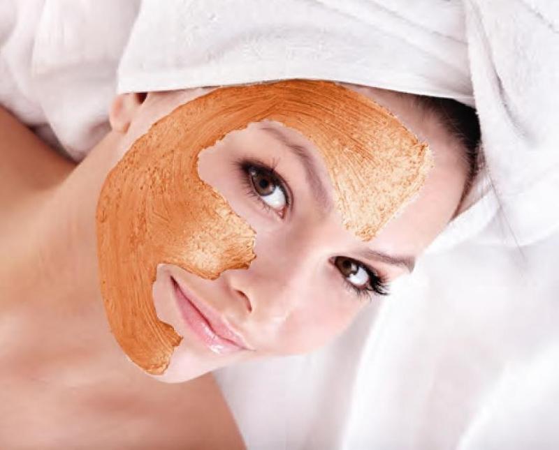 Tretman za lice od bundeve - piling.