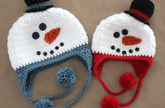 Novogodišnje kapice - sneškići