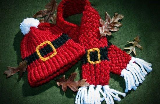 Novogodišnja kapica - Deda Mraz