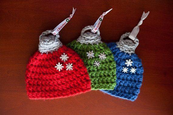 Heklana kapica - novogodišnji ukras