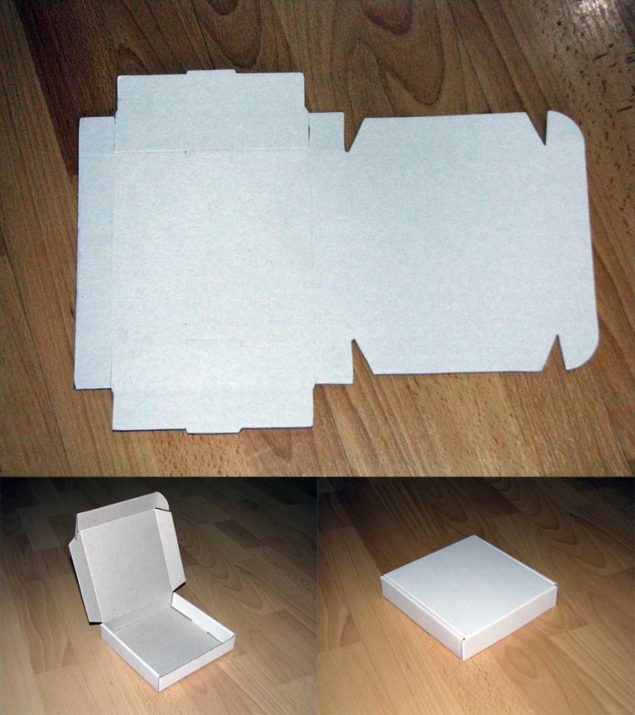 Kartonska kutija bez sunđera