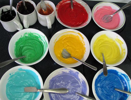 novogodišnji medenjaci glazura boja