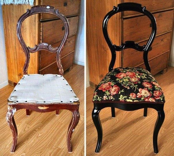 Restauriranje stare stolice