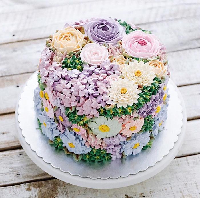 dekoracija-torte-cveće