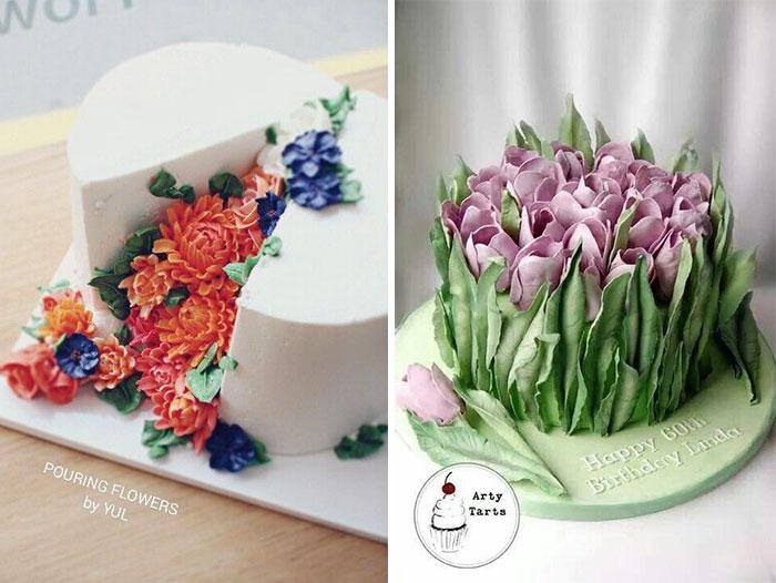 dekoracija-torte-puno-cveća