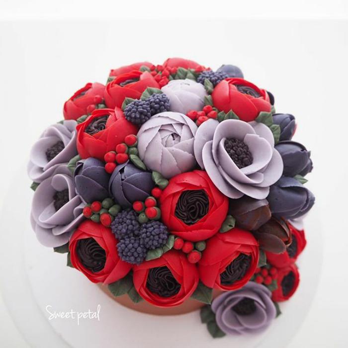 dekoracija-torte-ruže
