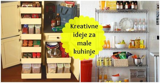 Kreativne Ideje Za Male Kuhinje Moj Ručni Rad