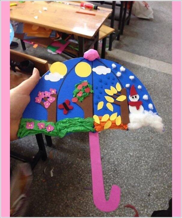 kreativne-prolecne-ideje-za-decu-kisobran1