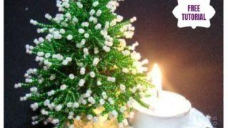 novogodišnja jelkica od perlica